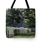 Farmland Shade Appomattox Virginia Tote Bag