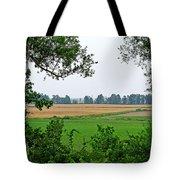 Farmland View Tote Bag