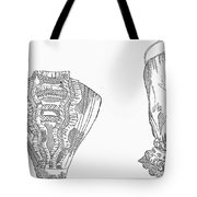Fashion: Chemisette, 1854 Tote Bag