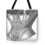 Fashion: Corset, 1869 Tote Bag