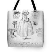 Fashion: Corset, C1850 Tote Bag