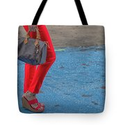 Fashionably Red Tote Bag