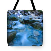 Fast-flowing River Tote Bag