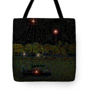 Fat Moon Bay Tote Bag