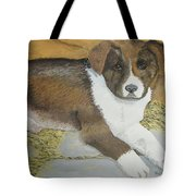 Fat Puppy Tote Bag
