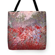 Fawns Hiding In Grass Tote Bag