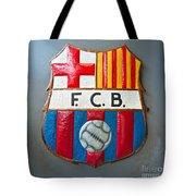 Fc Barcelona Symbol Tote Bag
