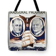 Fdr: Inauguration, 1933 Tote Bag