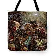 Feast On Fools Tote Bag