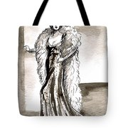 Feather Boa Tote Bag
