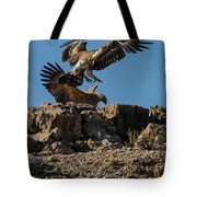 Feather Fluster Tote Bag