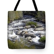 Feather River White Water Tote Bag
