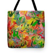Feathered Nest Three Tote Bag