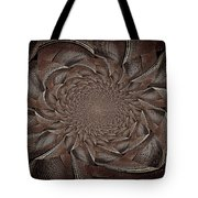 Feathers In Bloom Tote Bag