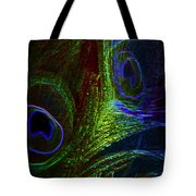 Feathers Of Hope. Blue Touch Tote Bag
