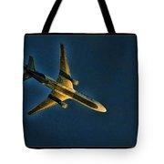 Fedex Plane Tote Bag