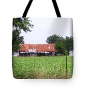 Feeding Barn Tote Bag