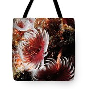 Feeding Feather Dusters Tote Bag