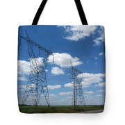 Feel The Power Tote Bag