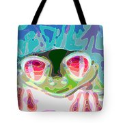 Feeling Froggy Tote Bag by Jimi Bush