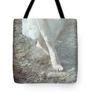 Feet In Water Tote Bag