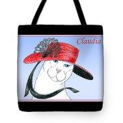 Feline Finery - Claudia Tote Bag