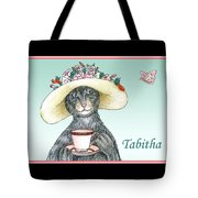 Feline Finery - Tabitha Tote Bag
