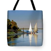 Feluccas On The Nile Tote Bag