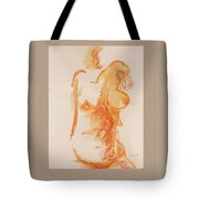 Female Form Tote Bag