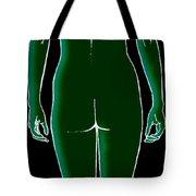 Female, Full Posterior View Tote Bag