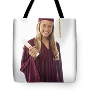 Female Graduate II Tote Bag