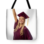 Female Graduate Tote Bag