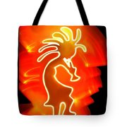 Female Kokopelli Tote Bag