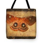 Female Moth Tote Bag