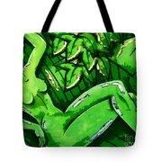 Female On A Mardi Gras Float Painted Tote Bag