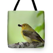 Female Summer Tanager Tote Bag