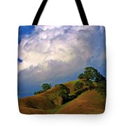 Feminine Hills In Late Day Tote Bag
