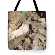Femur Of Camarasaurus Covered Tote Bag