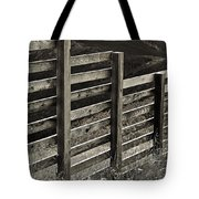 Fence Close Up Tote Bag