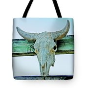 Fence Decor Ranch Style Tote Bag