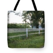 Fence Or Shoes Tote Bag