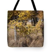 Fence Post Tote Bag