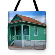 Fenced Yard Tote Bag