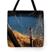 Fenceposts Tote Bag