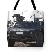 Fennek Armored Reconnaissancd Vehicles Tote Bag