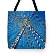 Ferris Wheel - Nuremberg  Tote Bag by Juergen Weiss
