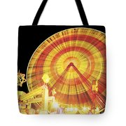 Ferris Wheel And Other Rides, Derry Tote Bag