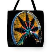 Ferris Wheel At Night Tote Bag