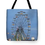 Ferris Wheel At Virginia Beach Tote Bag