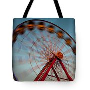 Ferris Wheel Iv Tote Bag